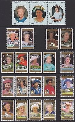 70th Birthday of HM Queen Elizabeth II - 2 Pages (MUH)