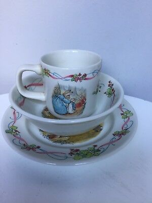 wedgewood Peter Rabbit Christening Set