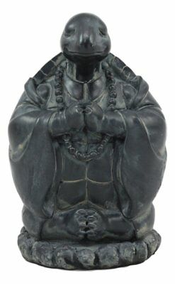 Ebros Master Oogway Feng Shui Buddha Turtle Chanting Mantra Statue Zen Turtle