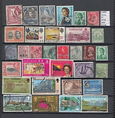 Stamps Lot British Colonies  Used  (L30884)
