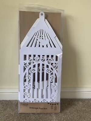 'NEW' Wedding Card Post Box - Vintage Style Bird Cage