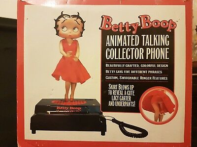 Betty Boop Animated Talking Collector Phone