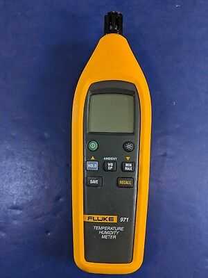 Fluke 971 Temperature Humidity Meter, Very Good Condition