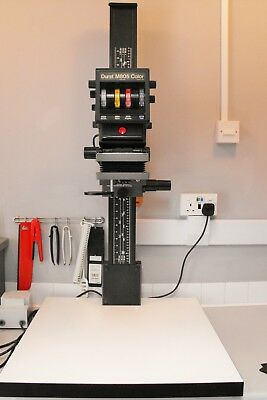 Durst M805 colour / black and white enlarger. Excellent condition masks AN glass