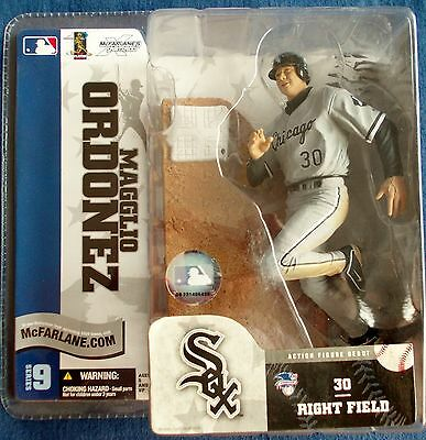 Orginal McFarlanes Figure, Magglio Ordonez, White Sox!!
