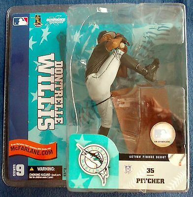 Orginal McFarlanes Figure, Dontrelle Willis, Marlins!!!