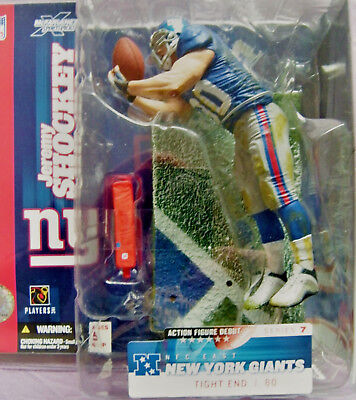 Orginal McFarlanes Figure, Jeremy Shockey, Giants NFL Serie 7
