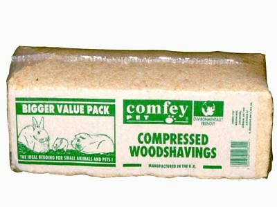 Comfey Pet Dust Free Woodshavings - Small Animal Bedding