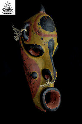 Fine Old Carved Koiwut Mask, Sawos People, Papua New Guinea, PNG