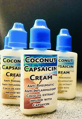 Premium Quality Coco Capsaicin Gel For Chronic Pain Heat Cream. EXCELLENT