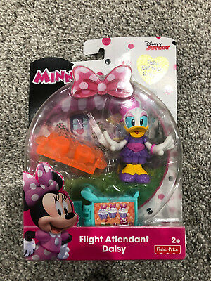 Disney Minnie Mouse Bowtique Flight Attendant Daisy Figure Toy