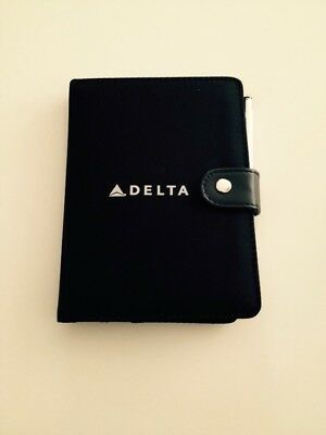 New Delta Airlines Notepad/notebook With Pen