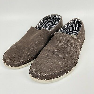 908c43168f8 UGG AUSTRALIA MATEO Canvas Slip On Sneakers 1016748 Burnt Olive ...