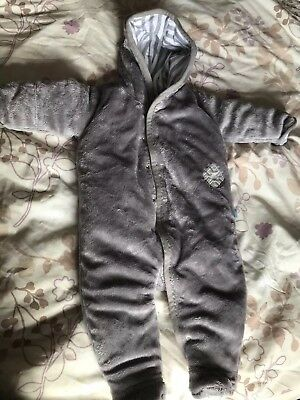 e85cb5938 MARKS AND SPENCER Baby Snowsuit Age 0-3 Months red - £10.00 ...