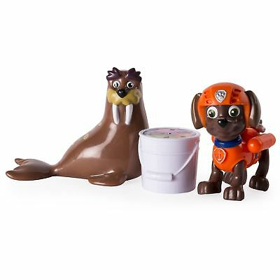 Paw Patrol Zuma And Wally Walrus Rescue Set Hovercraft Nickelodeon. Spinmaster