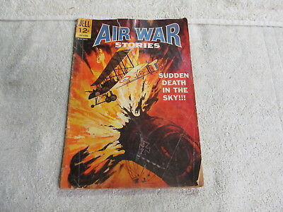 Vintage Dell Air War Stories Comic, Book Number 3, 1965