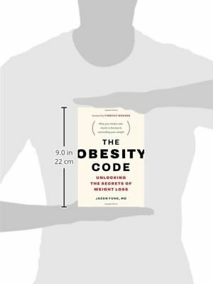 The Obesity Code Unlocking the Secrets of Weight Loss, New, Free Shipping