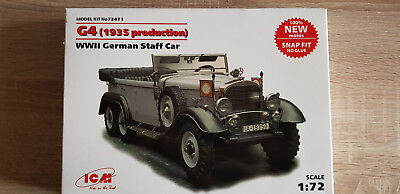 ICM 72471 WWII German Staff Car G4 (1935 Production) in 1:72