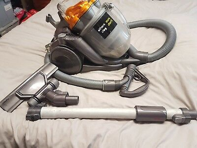 DYSON DC19 Canister BAGLESS Vacuum Cleaner,yellow / grey,BOTH NEW FILTERS FITTED