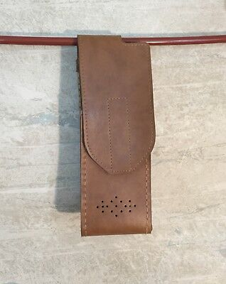 Radio Holster Leather Carry Case