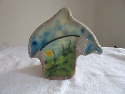 DOLPHIN Candle/Rock Figurine