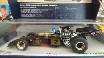 """Scalextric C3703A Legends - Lotus 72E """"Ronnie Peterson, No.2"""", Limited Edition"""