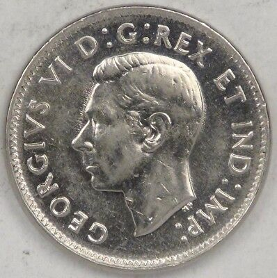 CANADA, George VI. 1938, 5 Cents, lots of luster