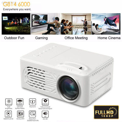 3D49 Outdoor Home Cinema Office GSS LCD Video Projector Mini LED Projector