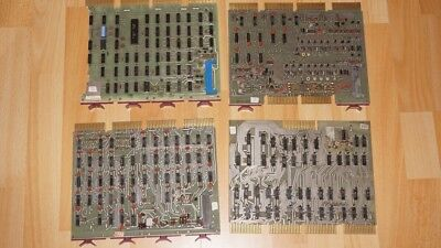 4 old boards for Arcade or pinball like Asteroids Pacman Space Invaders Flipper