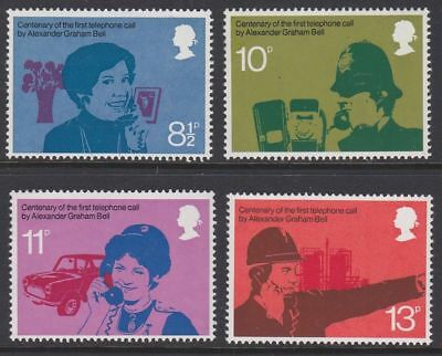 Sg997-1000 1976 Telephone Centenary ~ Unmounted Mint Gb.