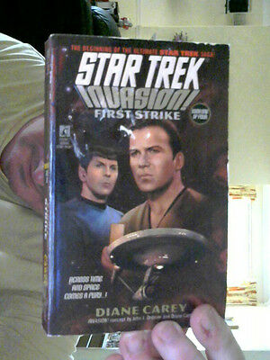 Star Trek Invasion First Strike Paperback Perfect Steal ! Last Chance Saloon