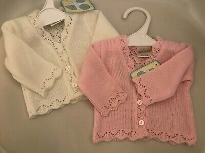 Baby Girls Premature Knitted Cardigan
