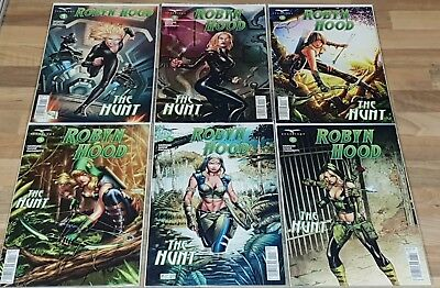 Robyn Hood The Hunt Full Set #1 to #6 New NM