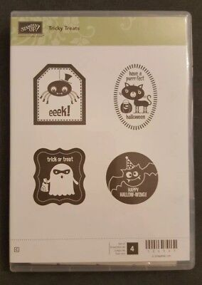 "Stampin' up Stempel Set ""Tricky Treats "" NEU"