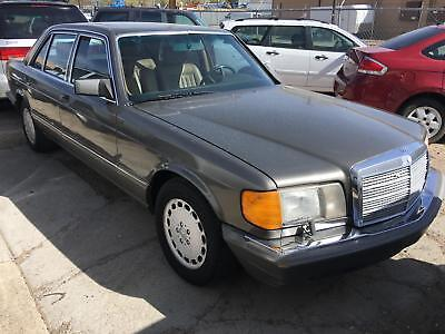 1986 400-Series 420SEL 1986 Mercedes-Benz 420 Series 420SEL 253,521 Miles   8 Cylinder Engine