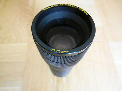 Beautiful Kodak Vario-Retinar S Carousel Projection lens 75-120 mm