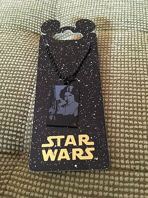 Star Wars Weekends Princess Leia Beautiful Necklace Now Memorial Of Her Tenacity