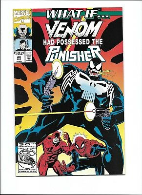 What If 44 Venom Had Possessed The Punisher Marvel Comics HOT HG NM-
