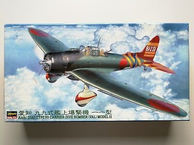 Hasegawa 09055 Aichi D3A1 Type99 Carrier Dive Bomber Model 11 1:48
