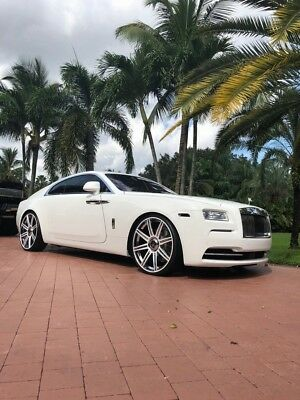 2014 Wraith Rolls-Royce Wraith $323K MSRP, 9K! 2014 Rolls-Royce Wraith, English White with 8,911 Miles available now!