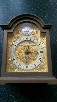 Vintage Swiza Tempus Fugit Brass Carriage Clock with Alarm, Mechanical Swiss