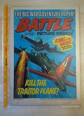 BATTLE PICTURE WEEKLY UK Comic. First Year Issue - 1975. (30 August 1975)