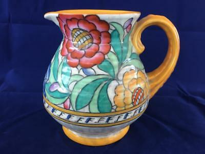 Fine Vintage Crown Ducal Charlotte Rhead Hand Painted Jug.