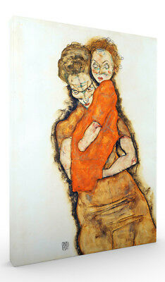 Mother and Child by Egon Schiele Wall Art