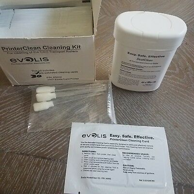 EVOLIS,, Cleaning Kit for Cleaning Roller and Printhead
