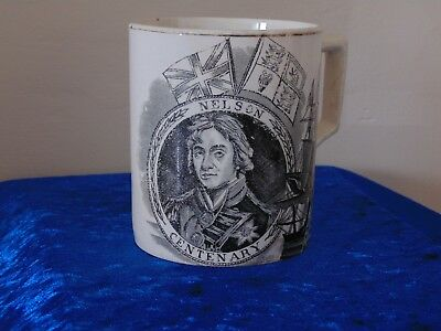 Antique Admiral Lord Nelson Commemorative Mug