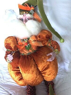 Mark Roberts Pumpkin Fairy large # 61 of 250 NWT