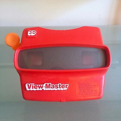 View-Master 3D Viewer Vintage Original Red Made In USA