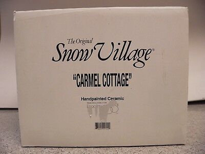 Dept. 56 Snow Village Carmel Cottage