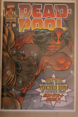 Deadpool issue one 1 (1997) 1st print excellent condition (Marvel Comic)